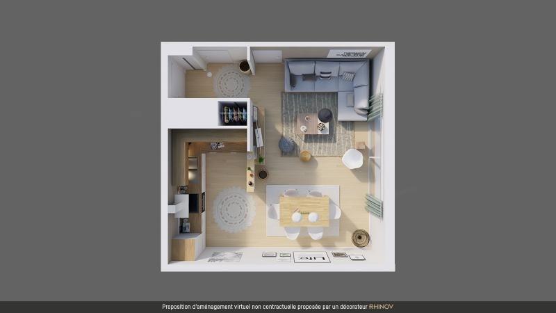 Sale apartment L hermitage 117500€ - Picture 10