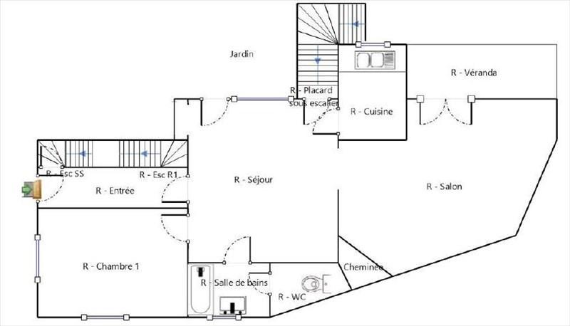 Vente maison / villa Les clayes sous bois 430000€ - Photo 9