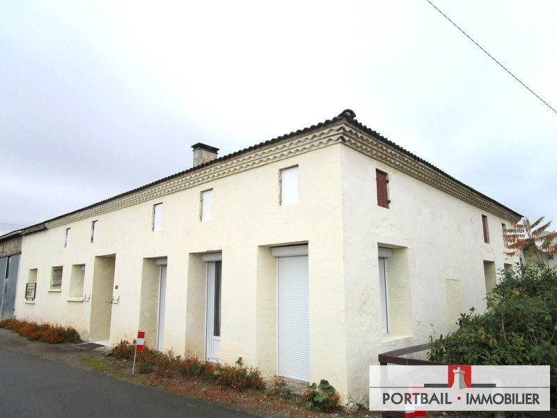 Sale house / villa Anglade 138000€ - Picture 1