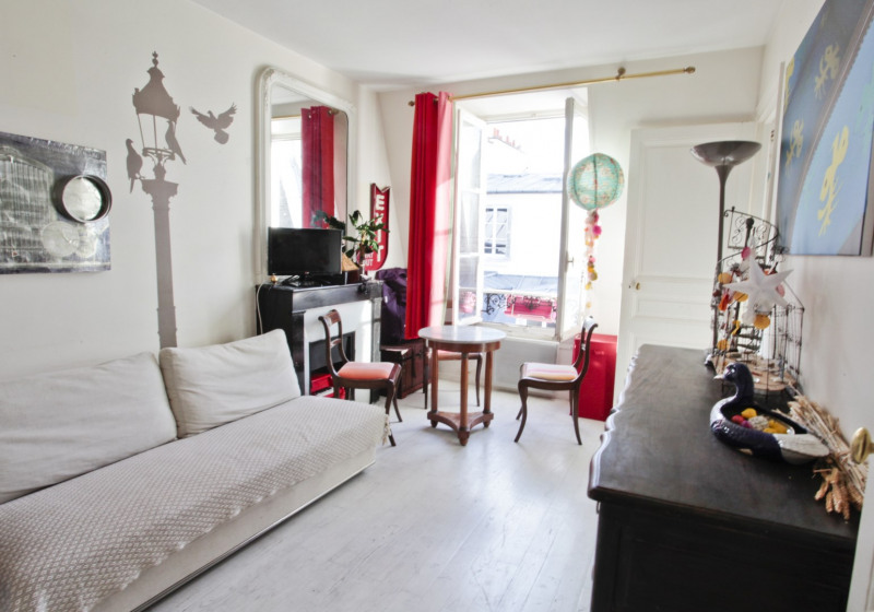 Vente de prestige appartement Paris 4ème 598 000€ - Photo 2