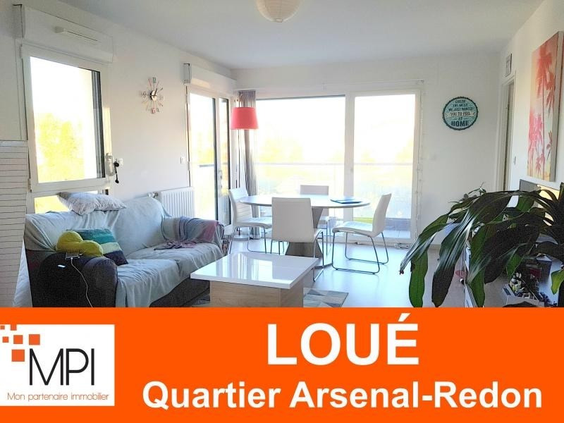 Rental apartment Rennes 630€ CC - Picture 1