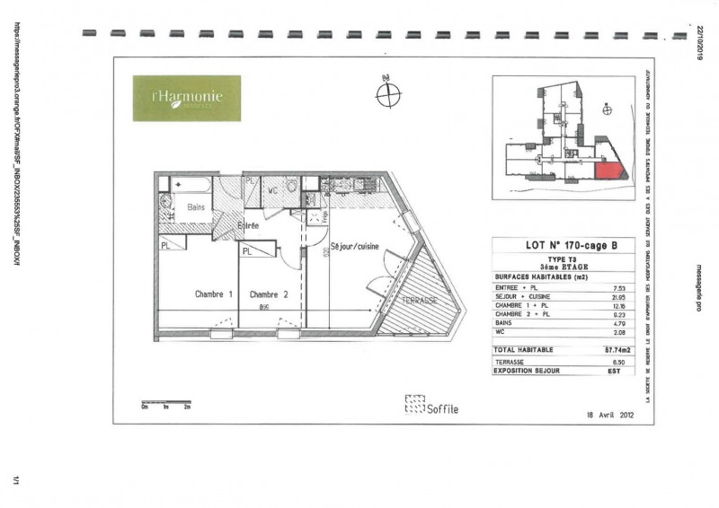 Rental apartment Toulouse 675€ CC - Picture 15