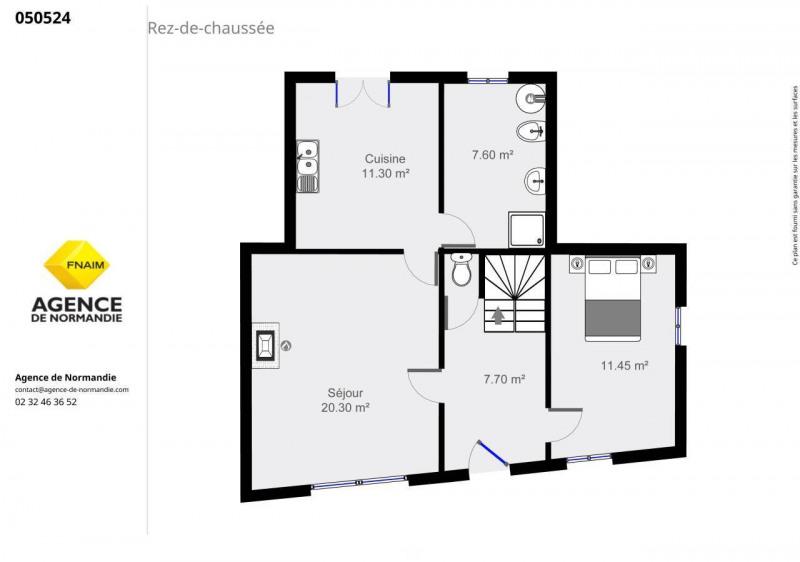 Sale house / villa La ferte-frenel 50000€ - Picture 3