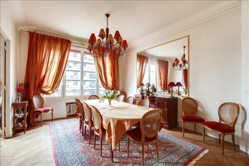 Deluxe sale apartment Paris 17ème 1 845 000€ - Picture 2