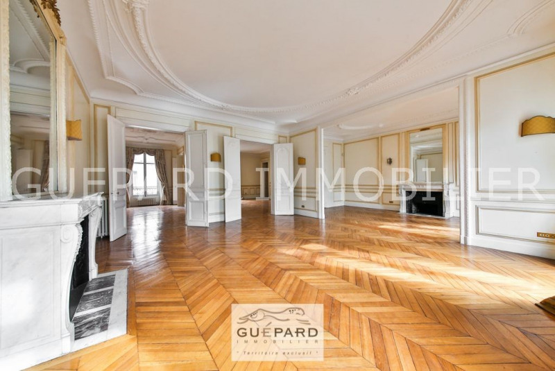 Deluxe sale apartment Paris 8ème 3 350 000€ - Picture 1