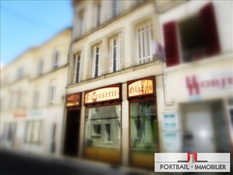 Sale building Montendre 254400€ - Picture 1