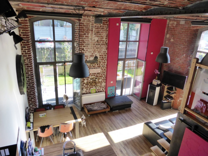 Vente de prestige loft/atelier/surface Tourcoing 199900€ - Photo 2