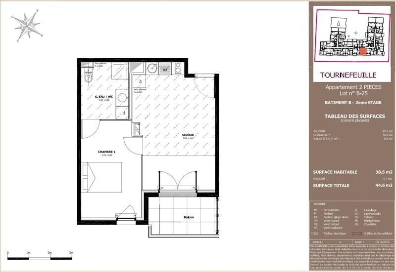Vente appartement Tournefeuille 165000€ - Photo 6