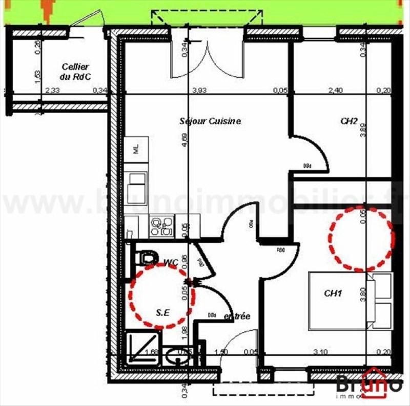 Vente appartement St valery sur somme 154500€ - Photo 2