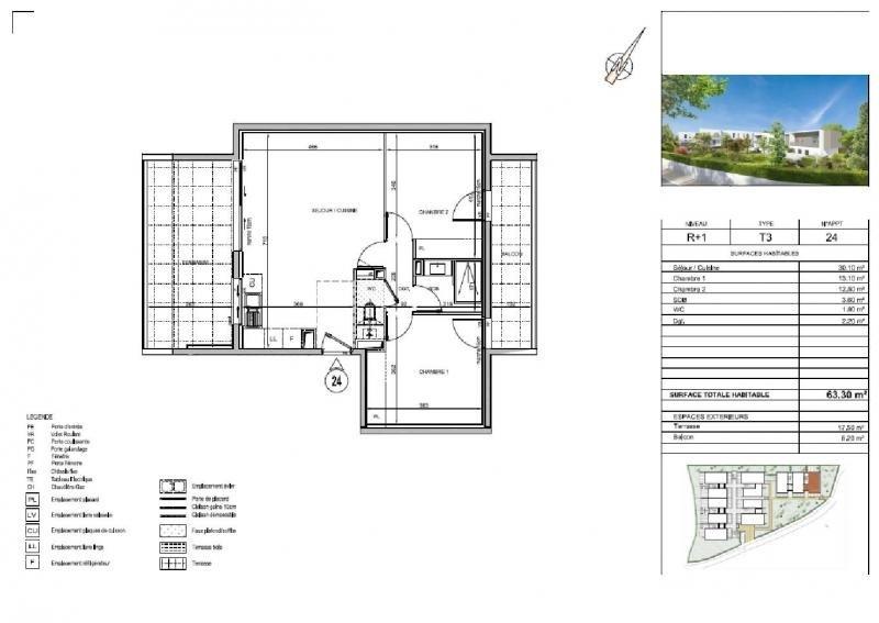 Sale apartment St jean de vedas 286000€ - Picture 3