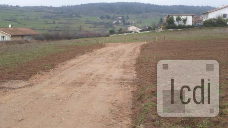 Vente terrain Annonay 85000€ - Photo 2