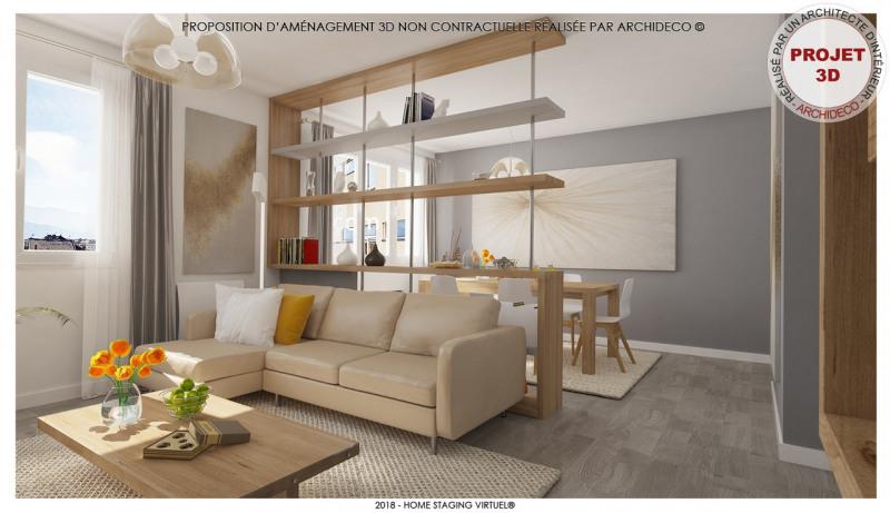 Vendita appartamento Voiron 89000€ - Fotografia 1