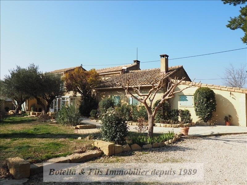 Verkoop van prestige  huis Uzes 610000€ - Foto 1