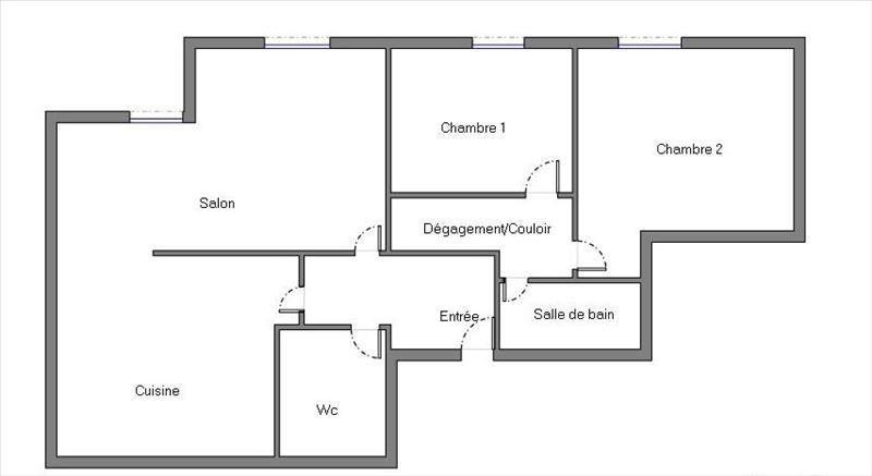 Vente appartement Courbevoie 440000€ - Photo 5