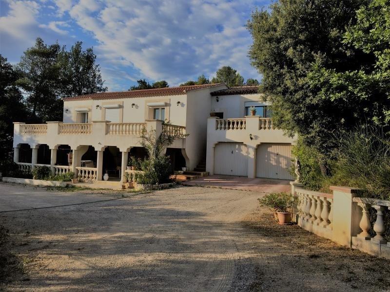 Sale house / villa Pourrieres 519000€ - Picture 1