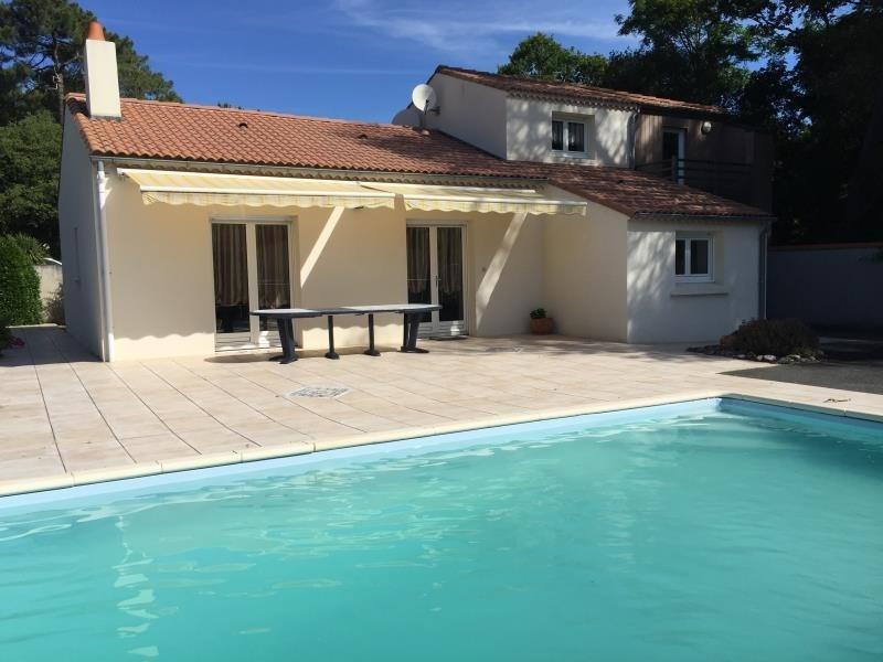 Sale house / villa St vincent sur jard 353600€ - Picture 1