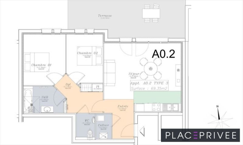 Venta  apartamento Nancy 195000€ - Fotografía 4