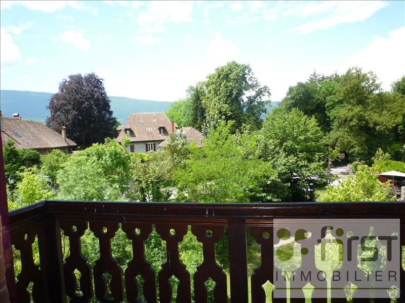 Deluxe sale apartment Menthon st bernard 595 000€ - Picture 2