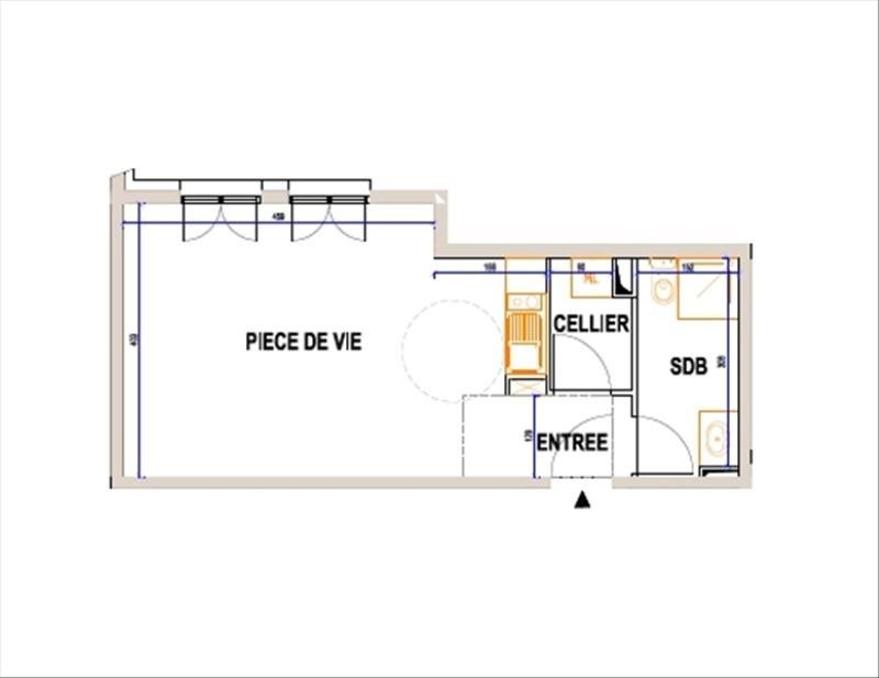 Verkoop  appartement L isle adam 190000€ - Foto 1
