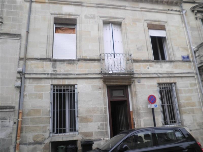 Rental apartment Bordeaux 585€ CC - Picture 1