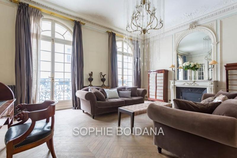 Vente de prestige appartement Paris 17ème 3880000€ - Photo 1
