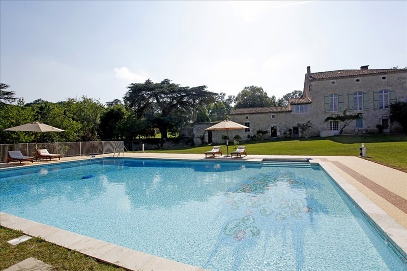 Deluxe sale house / villa Laroque timbaut 1 352 000€ - Picture 10