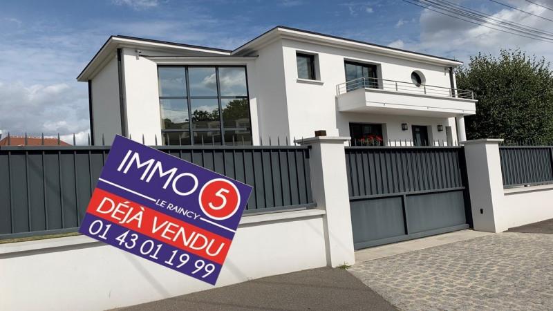 Vente maison / villa Le raincy 820000€ - Photo 1