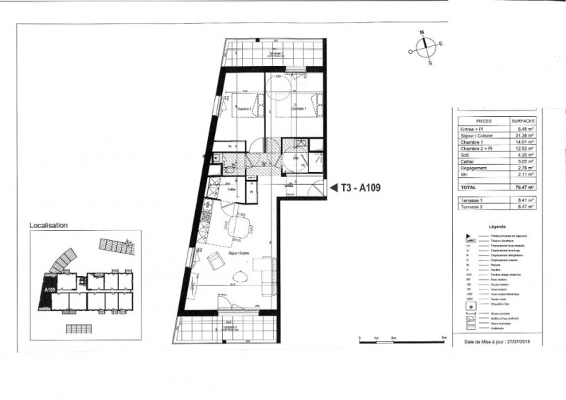 Vente appartement Olonne sur mer 270000€ - Photo 3
