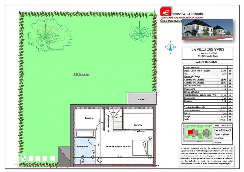 Vente maison / villa Noisy le grand 350000€ - Photo 17