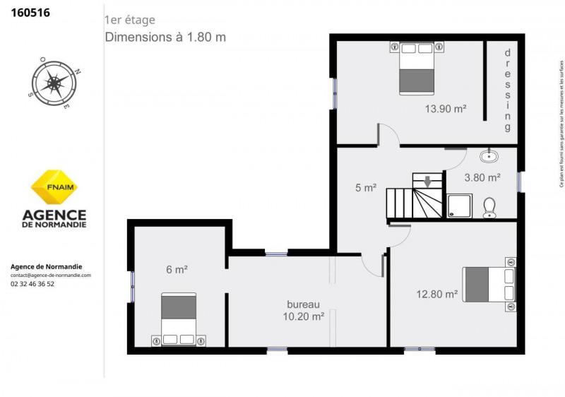 Vente maison / villa Montreuil-l'argille 160000€ - Photo 10