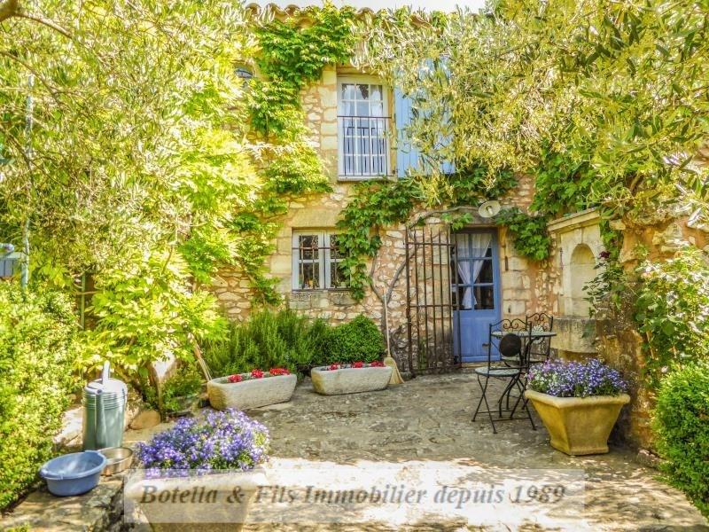 Venta de prestigio  casa Uzes 953000€ - Fotografía 1