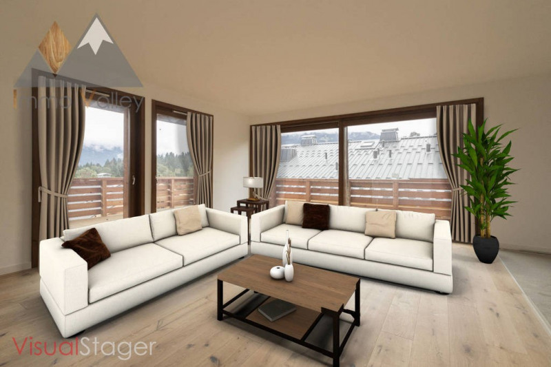 Vente de prestige appartement Combloux 738 300€ - Photo 3