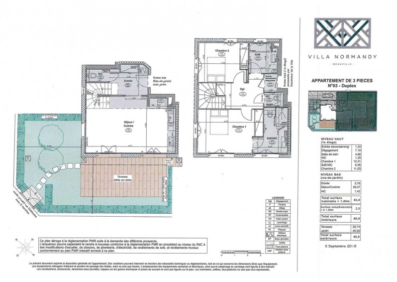 Престижная продажа квартирa Deauville 850000€ - Фото 3