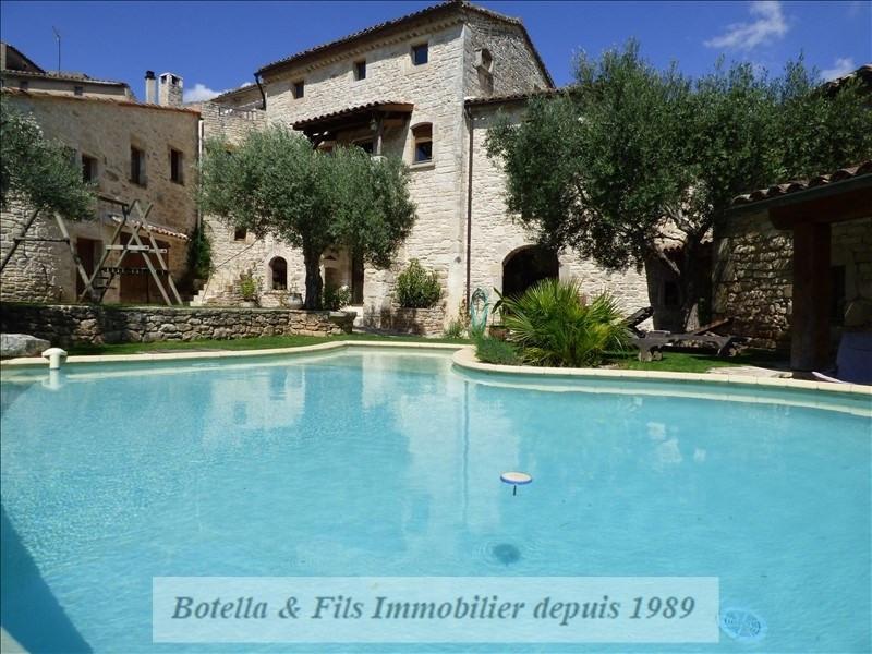Verkauf von luxusobjekt haus Barjac 489500€ - Fotografie 10