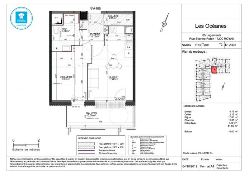 Vente appartement Royan 154000€ - Photo 4