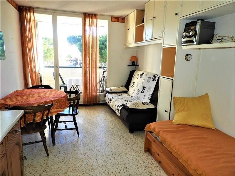 Vente appartement La grande motte 72000€ - Photo 1
