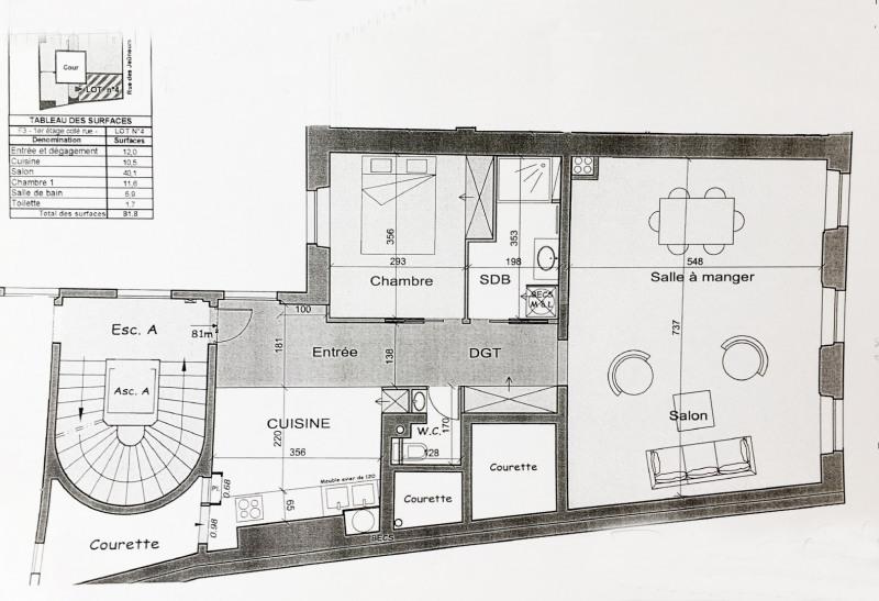 Vente appartement Paris 2ème 895000€ - Photo 9