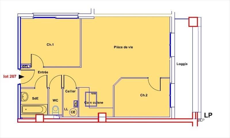 Vente de prestige appartement Soissons 213000€ - Photo 3