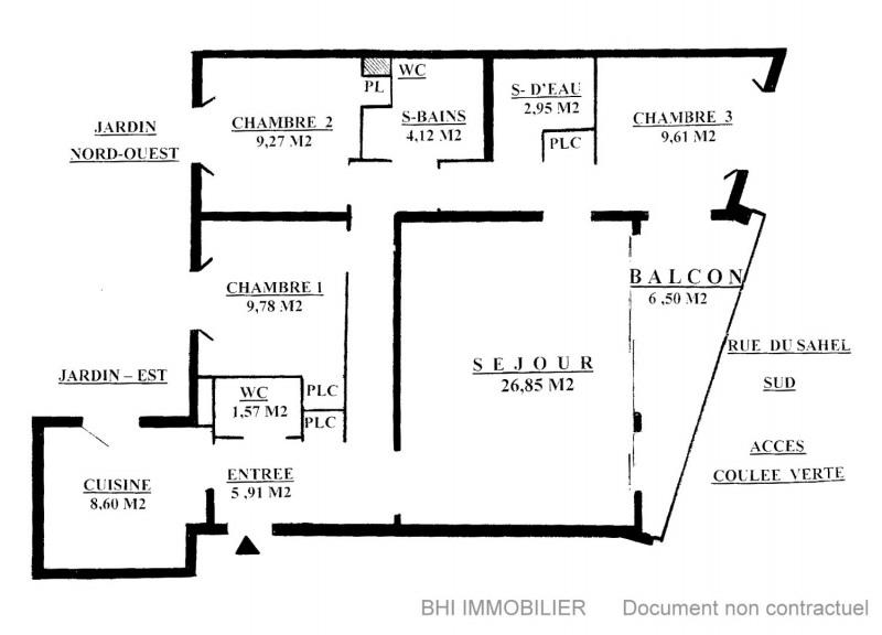 Vente appartement Paris 12ème 651000€ - Photo 9