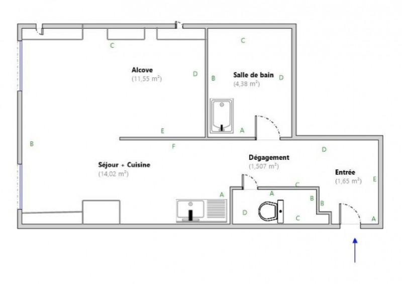 Location appartement Lyon 9ème 464€ CC - Photo 2