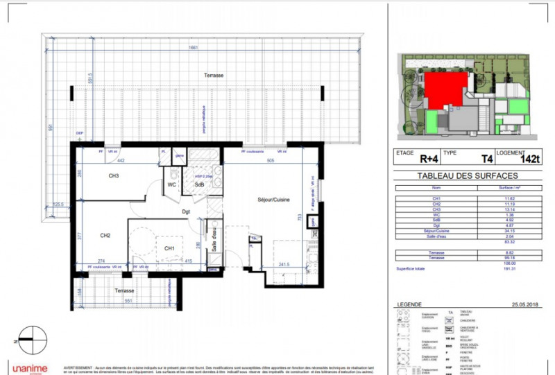 Vente appartement Villeurbanne 507000€ - Photo 3