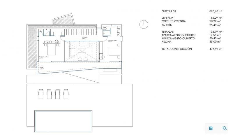 Verkauf von luxusobjekt haus Moraira province d'alicante 950000€ - Fotografie 12