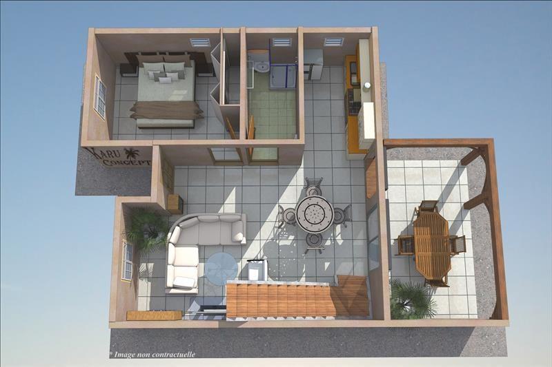 Sale house / villa Le moule 265000€ - Picture 10