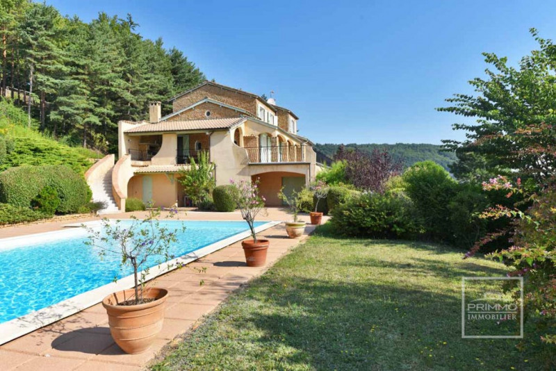 Deluxe sale house / villa Couzon au mont d or 950 000€ - Picture 2