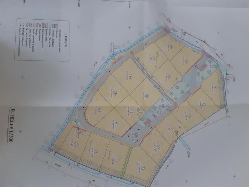 Vente terrain Beauvoir sur mer 43200€ - Photo 1