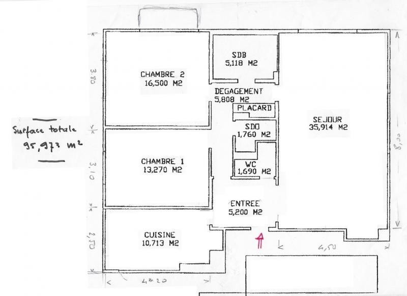 Vente appartement Vaucresson 580000€ - Photo 5
