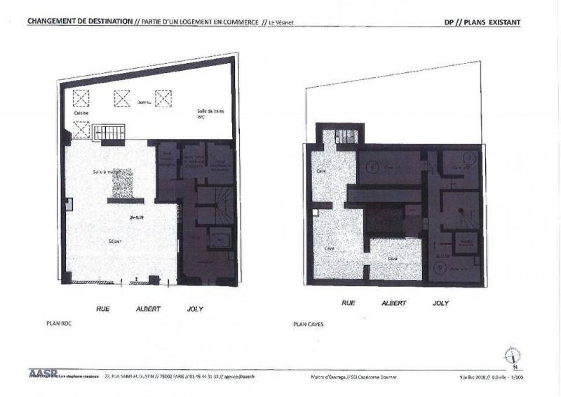 Sale empty room/storage Le vesinet 664000€ - Picture 2
