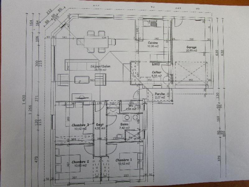 Sale house / villa Benesse maremne 352000€ - Picture 5