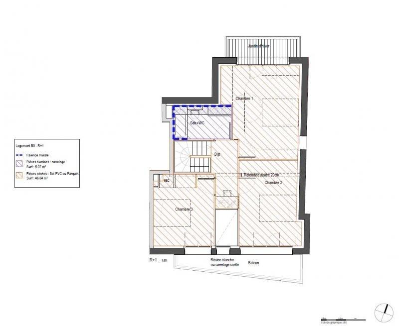 Venta  apartamento Clamart 650000€ - Fotografía 6
