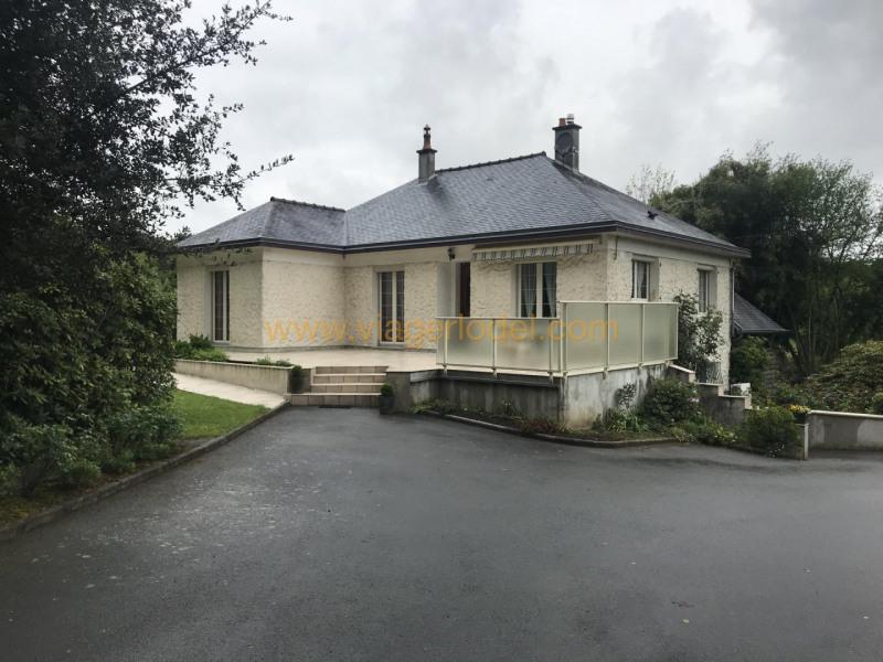 Vitalicio  casa Port-brillet 52500€ - Fotografía 2